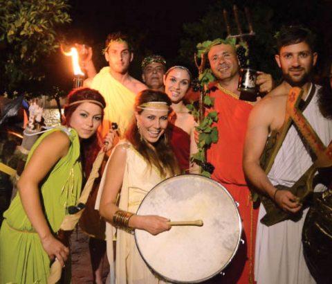 The night of Dionysus