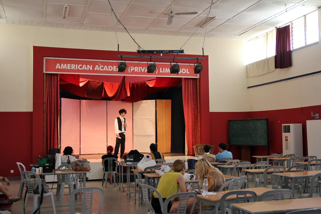 Театральная студия в American Academy