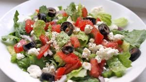 Греческий салат на Кипре