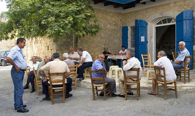 Кафенео на Кипре