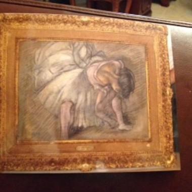 Кража в Лимассоле: похищена картина Дега