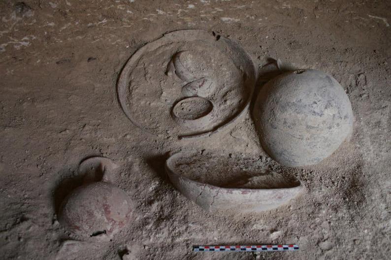 Археологические раскопки в Эрими