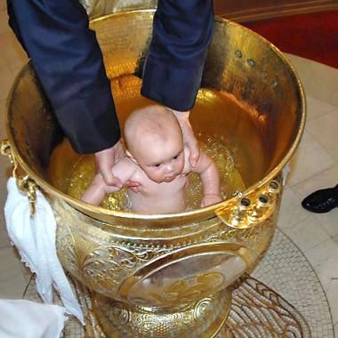 Таинство крещения на Кипре