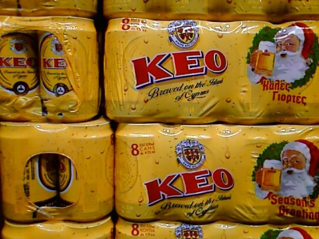 Местное пиво на Кипре: потребление снизилось