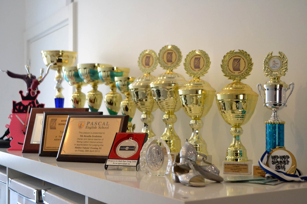 Награды танцевальной школы Swing Latino Dance Studio