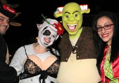 Парад «сумасшедших» костюмов в Лимассоле