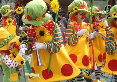 Детское карнавальное шествие