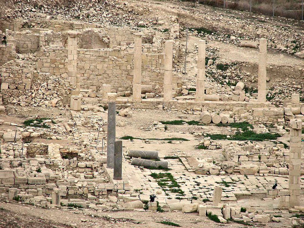 Diggings of the Ancient City of Amathus