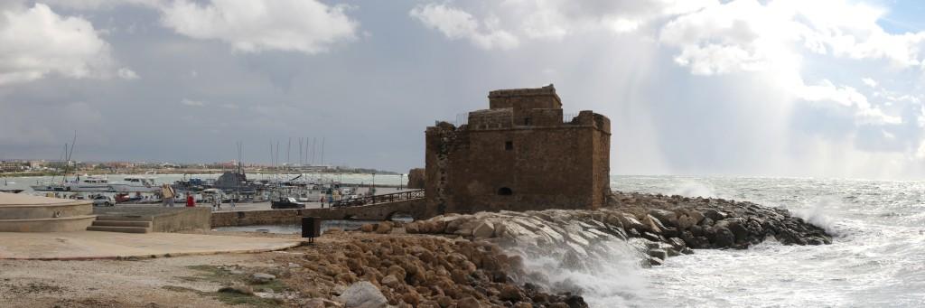 Paphos' old port