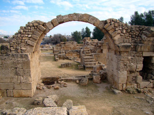 ancient ruins at Paphos
