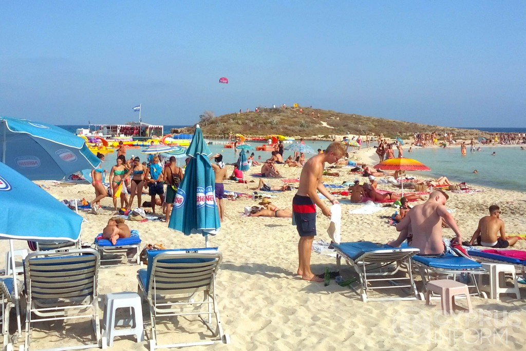 Nissi Beach in Ayia Napa