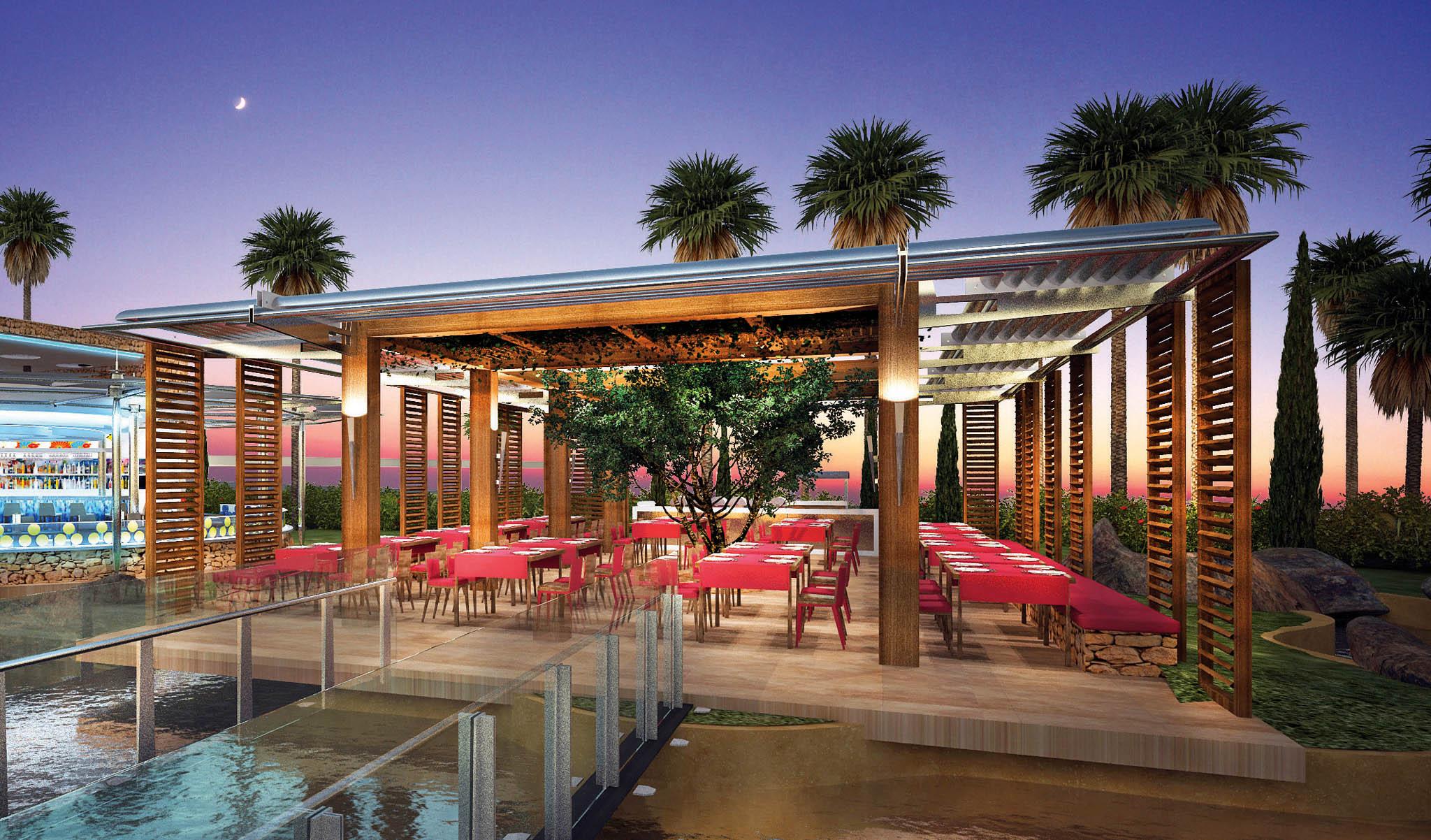 Restaurant Olympic Lagoon Resort Paphos