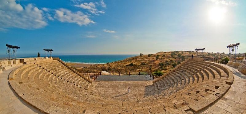 Kourion ancient theatre