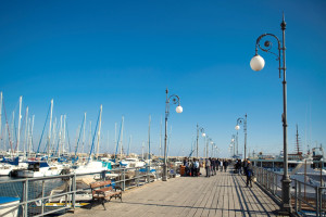 the marina in Larnaca