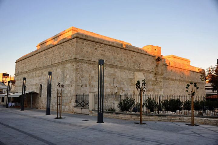 A Middle Age Castle and the Museum of Limassol