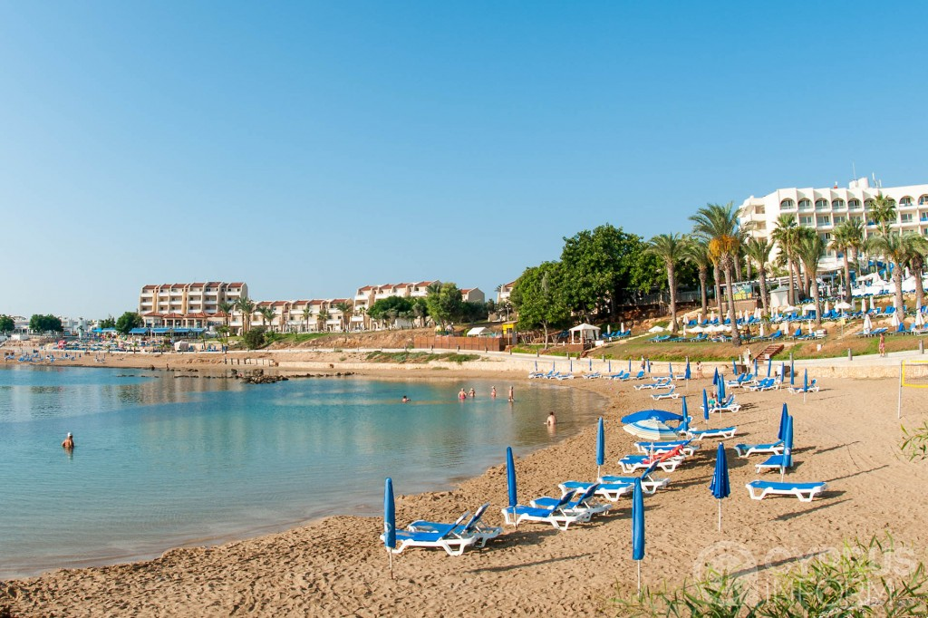 Louma Beach in Protaras