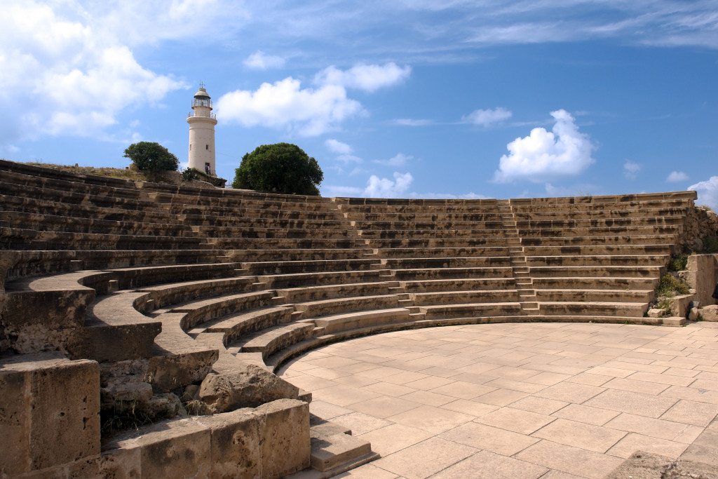an ancient amphitheatre