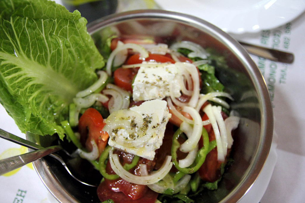 Cypriot traditional salad