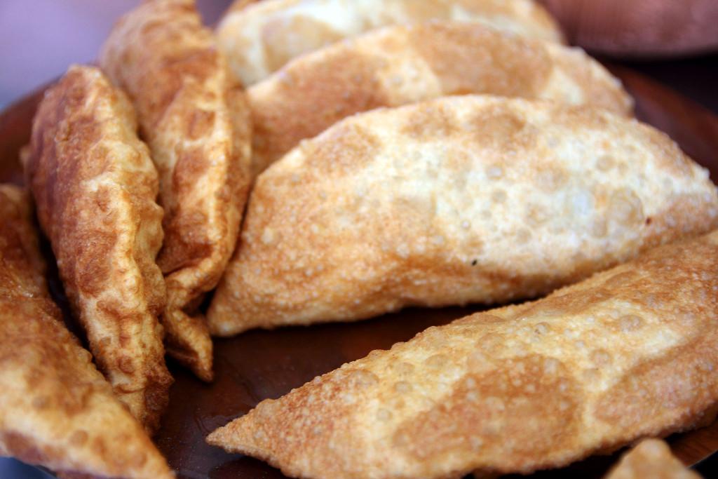 Чебуреки в кафе домашней грузинской кухни Julietta Sweets