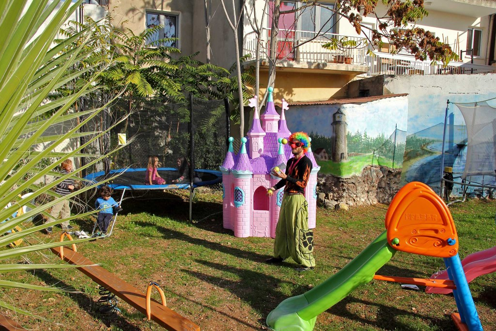 Julietta Sweets' playground for young customers