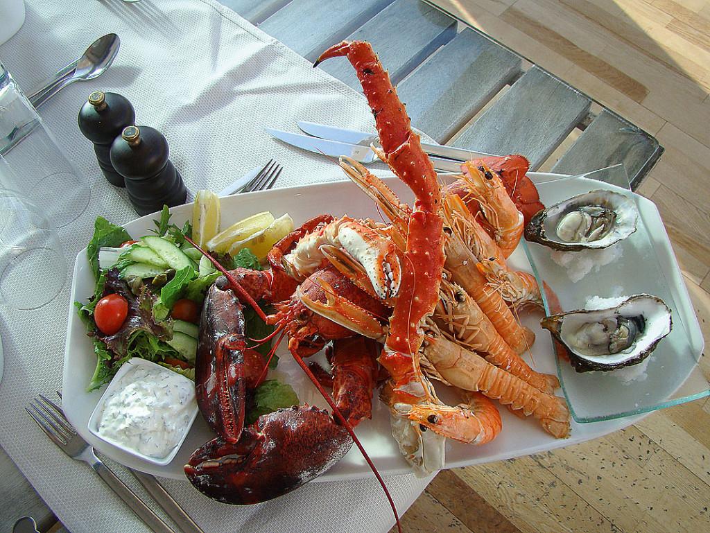 Ассорти из морепродуктов в Sailor's Rest