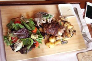 Мясо в The Garden