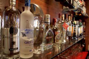 Горячительные напитки в ресторане «Тифлис»