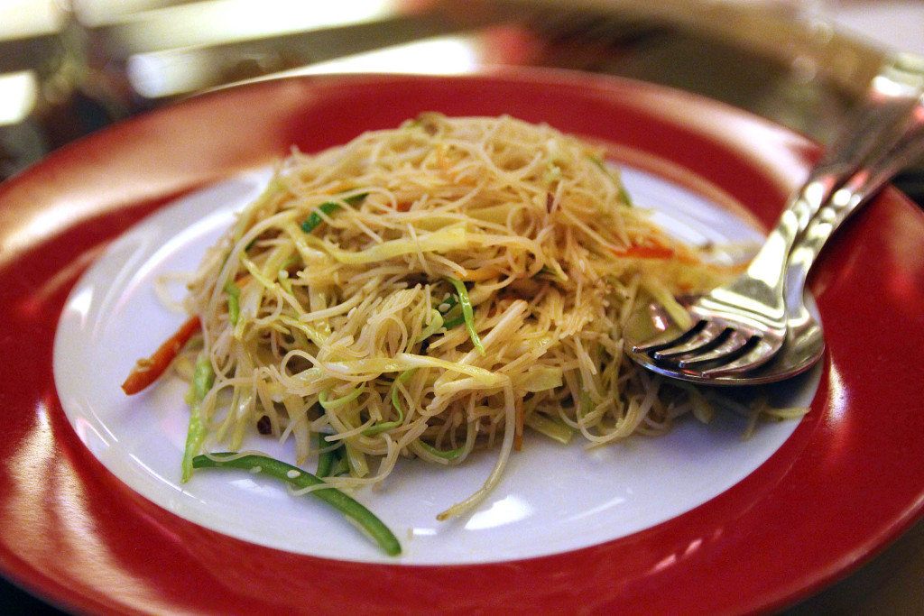 Xiang Cong  noodles