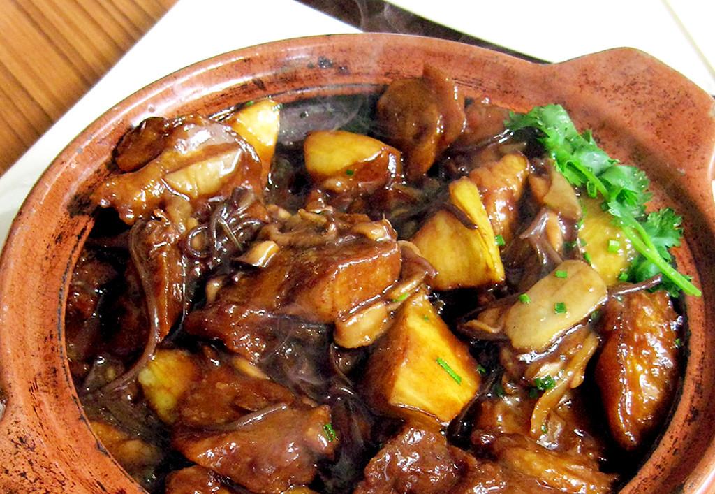 «Имитация утки со сковороды вок» в ресторане CHi