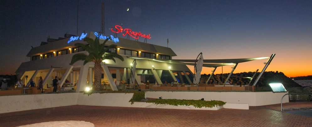 Sailor's Rest Lounge Bar Restaurant at St Raphael Resort
