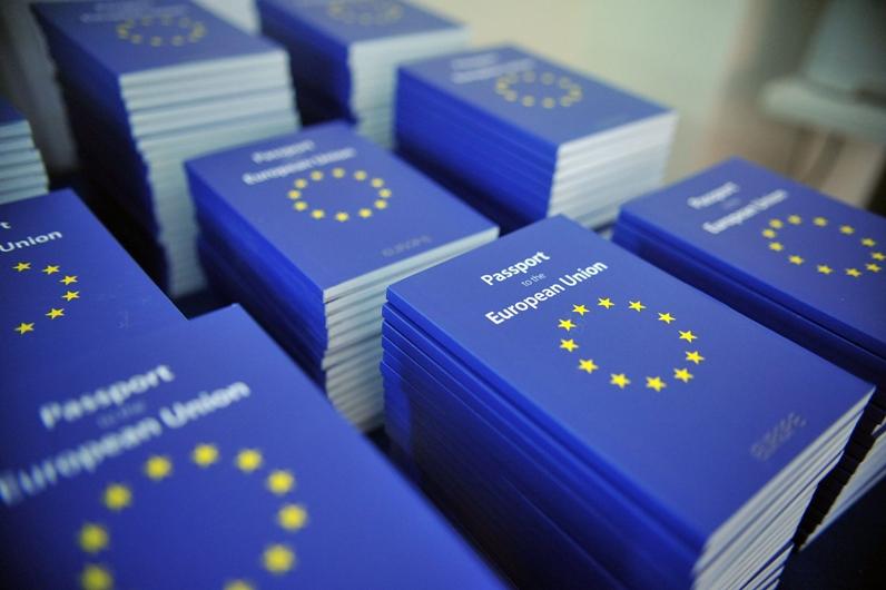 Паспорт граждан ЕС