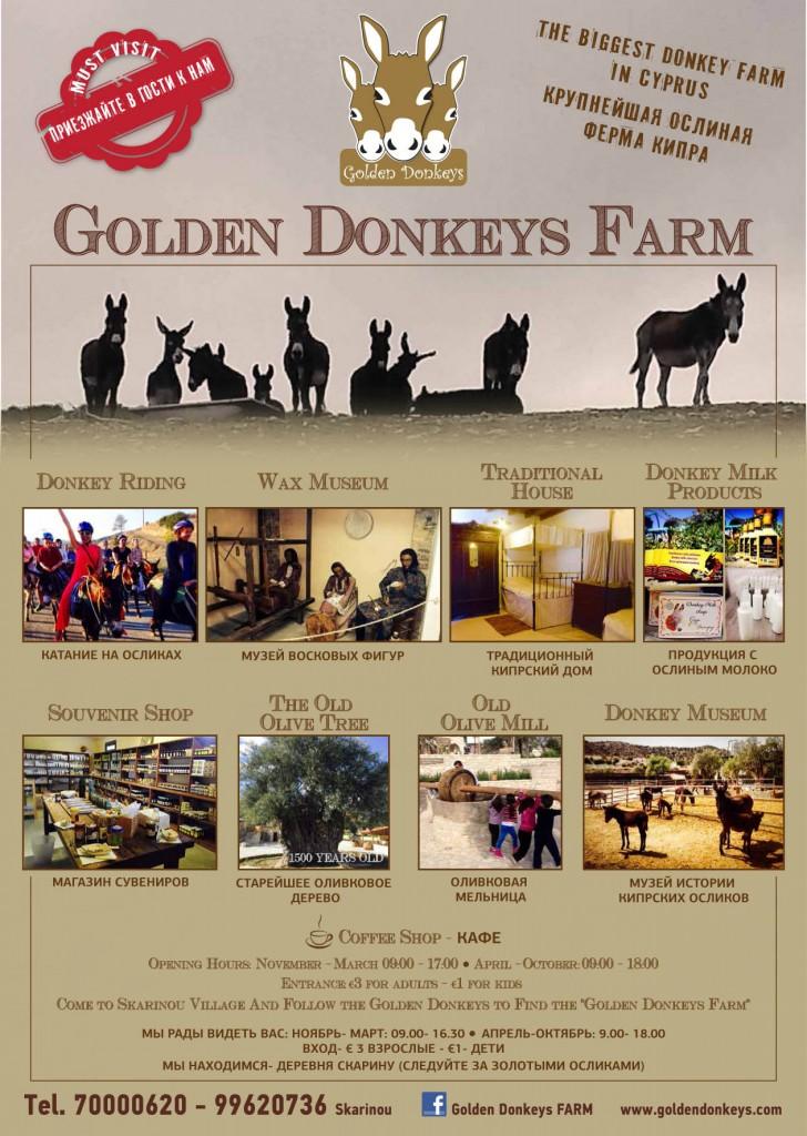 Предложения фермы осликов Golden Donkeys