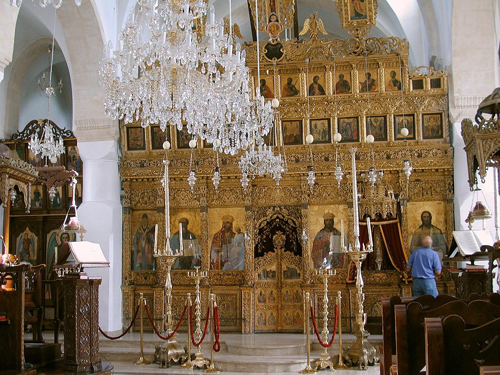 Храм в Омодосе