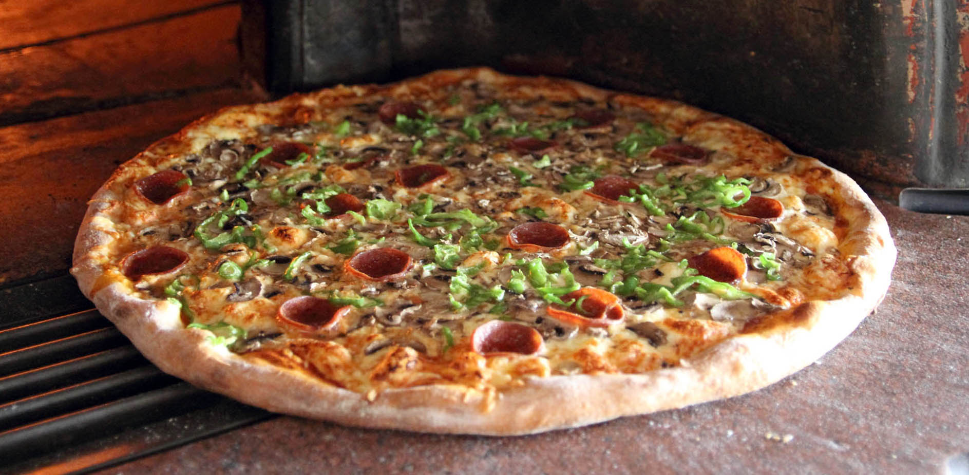 Pepperoni pizza restaurant for Pizza restaurants