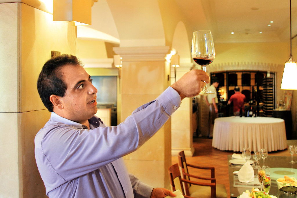 Klitos Demetriou is a Sommelier