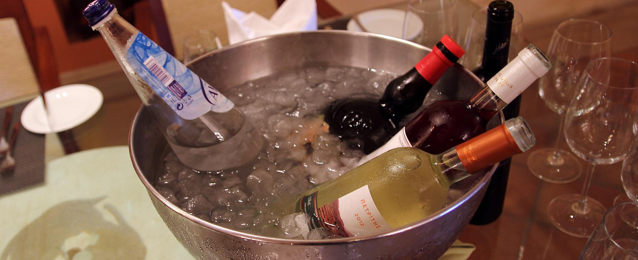 Wine testing wines
