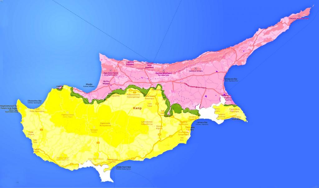 Разделение Кипра