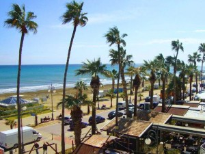 Phinikoudes beach Larnaca