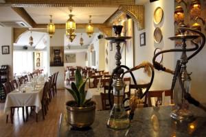 Интерьер ресторана Cleopatra