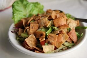 Салат в ресторане Cleopatra