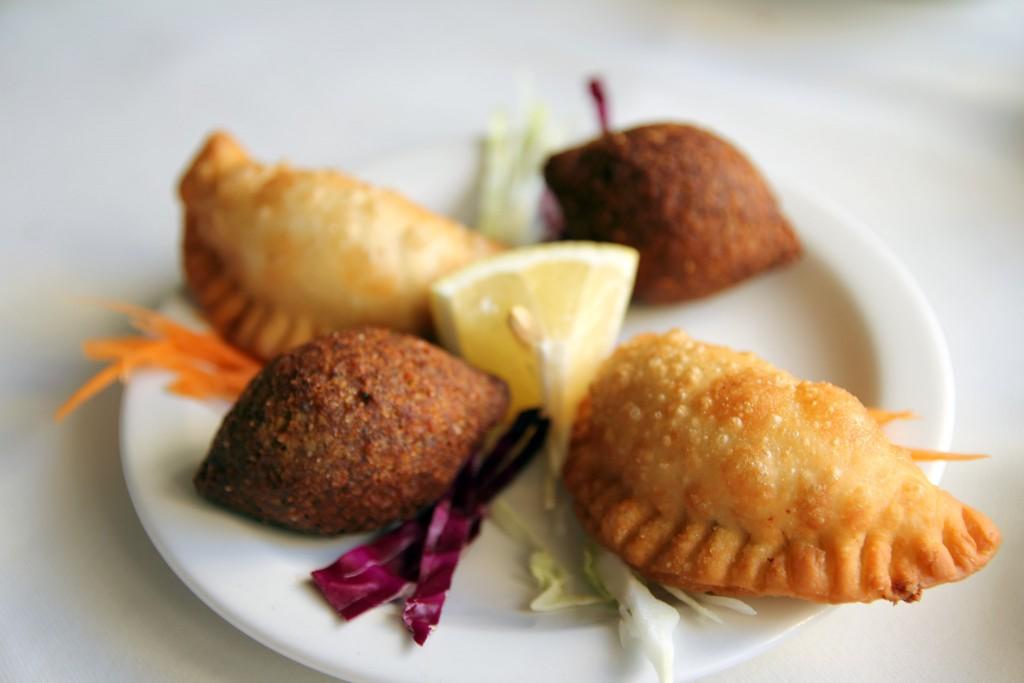 Пирожки в ресторане Cleopatra