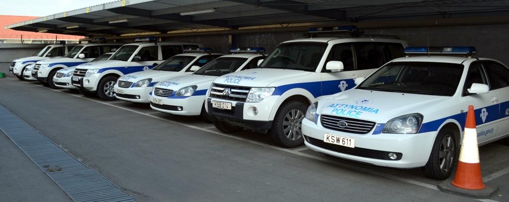 Полиция на Кипре