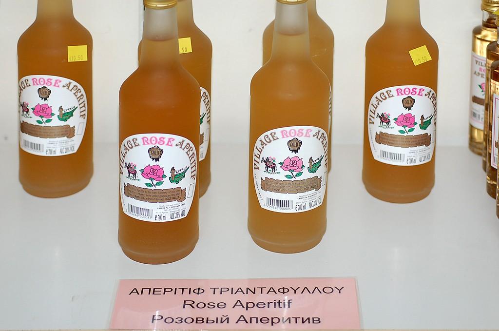 Напитки из роз