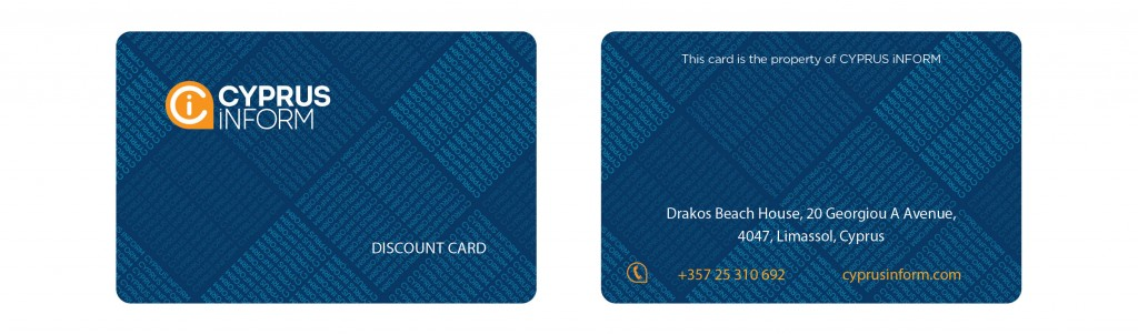Cyprus Inform discount card