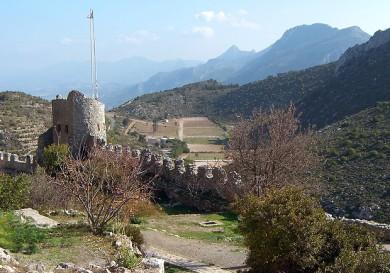 Замок на Северном Кипре