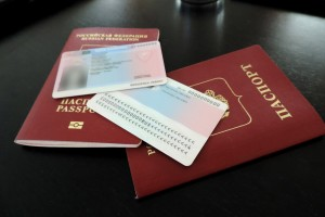 Pink slip and passport