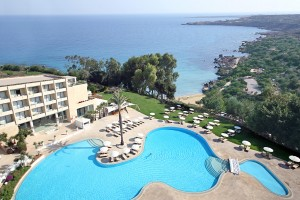 Grecian Park Hotel - pool and sea view