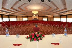 The cоnference hall of the hotel Panorama