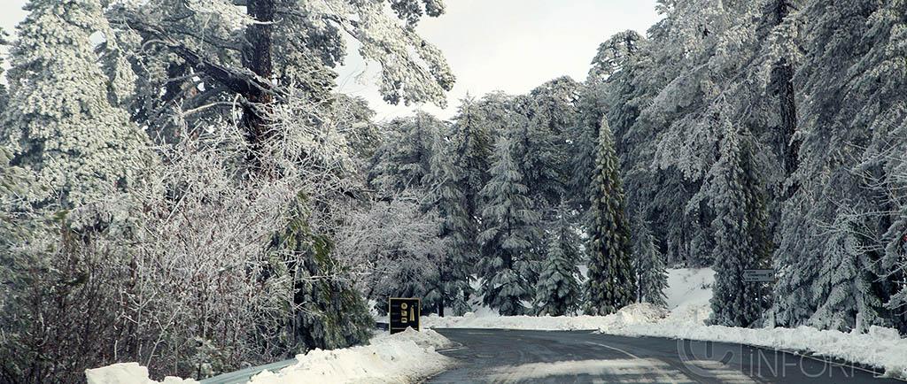 Τroodos snow
