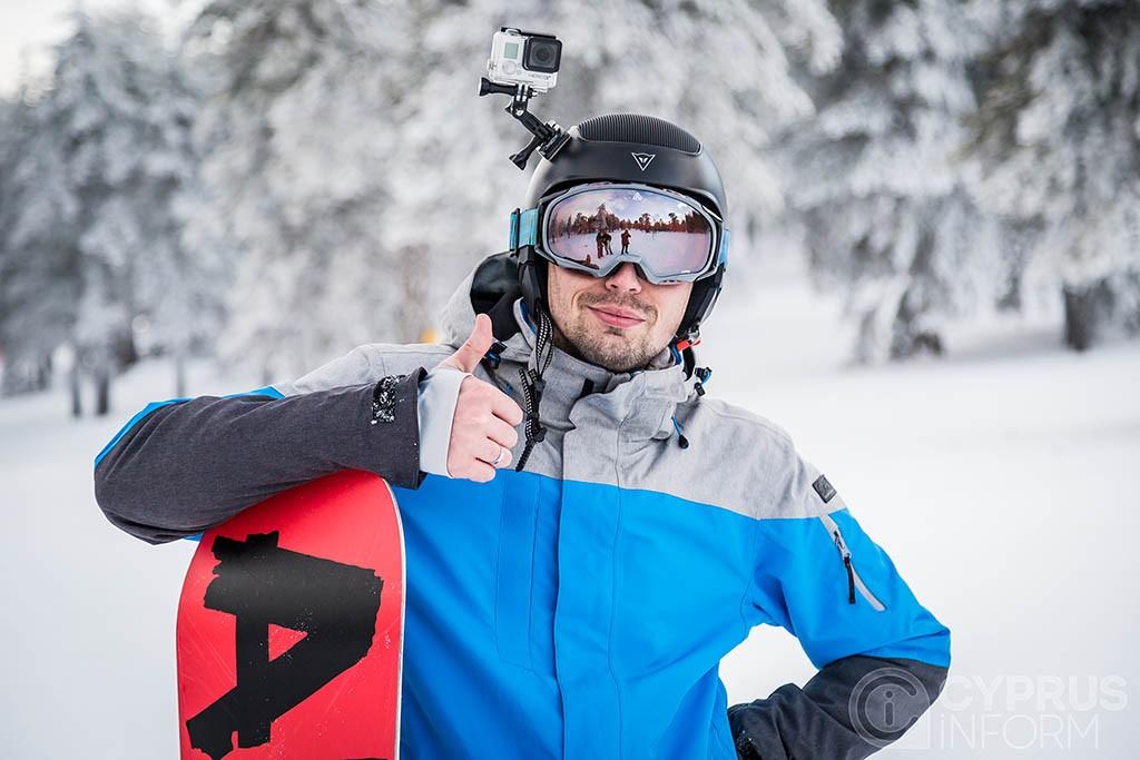 Τroodos snowboard